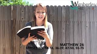 WUMC Youth Devotional