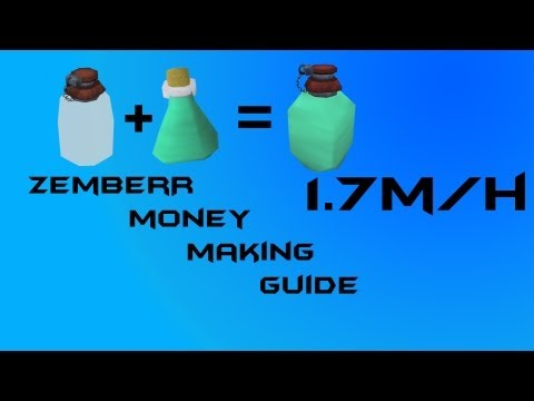 Runescape EOC Money Making Guide | 1.7m-2m per hour P2P 2013 *1080p HD*