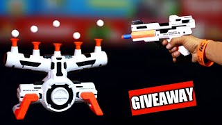 Amazing Hover Shot Floating Arcade  Game for Boys & Girls, Unboxing & Giveaway