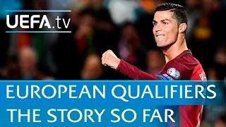 Ronaldo, Hazard, Lewandowski - European Qualifiers highlights