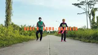 Roma - Bangkok - Baby K Ft. Lali (Choreography) By Melin Ft. Dwiky Sangatta Kaltim (Zumba)