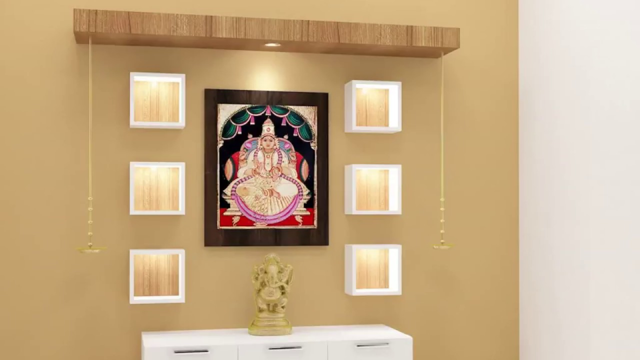 Wooden Pooja Mandir Designs For Home Online From Scale Inch
