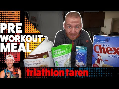 TRIATHLON TRAINING NUTRITION: what I eat before and during my BIGGEST WORKOUTS - 동영상
