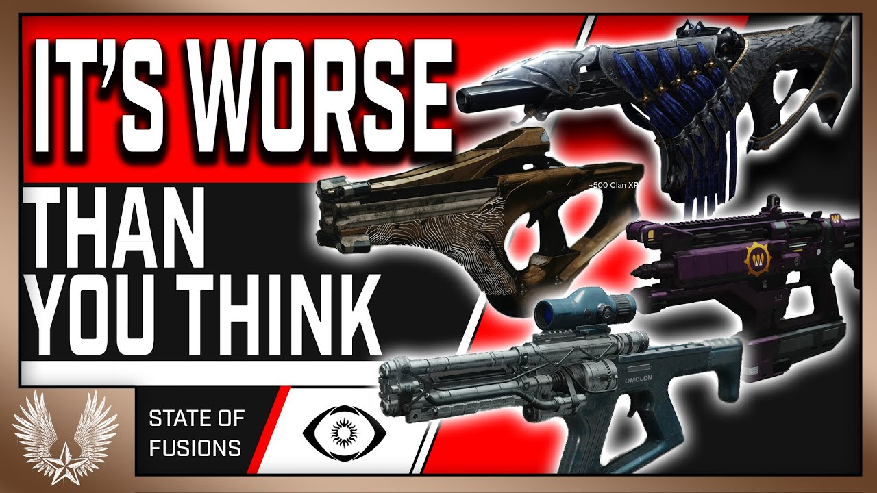 Download The current state of fusion rifles in PvP (It's not good)