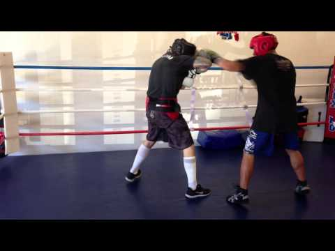Alan Roach Sparring 01-12-13