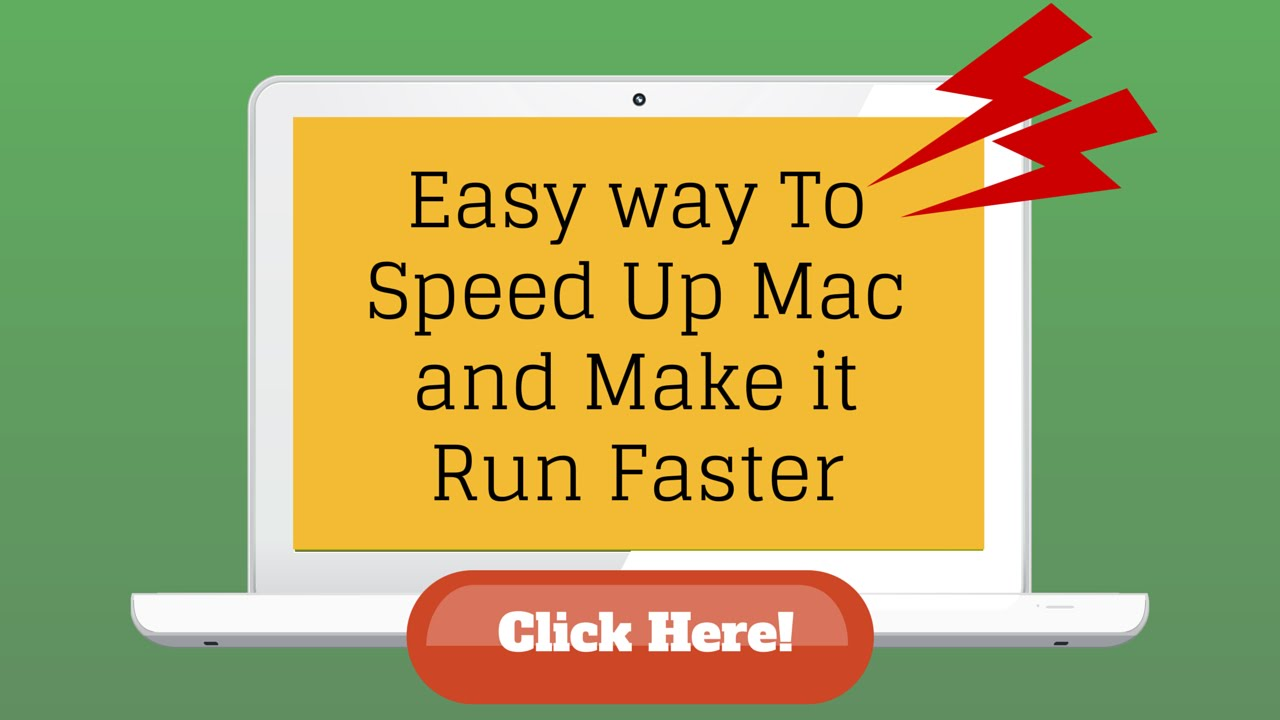 making mac run faster