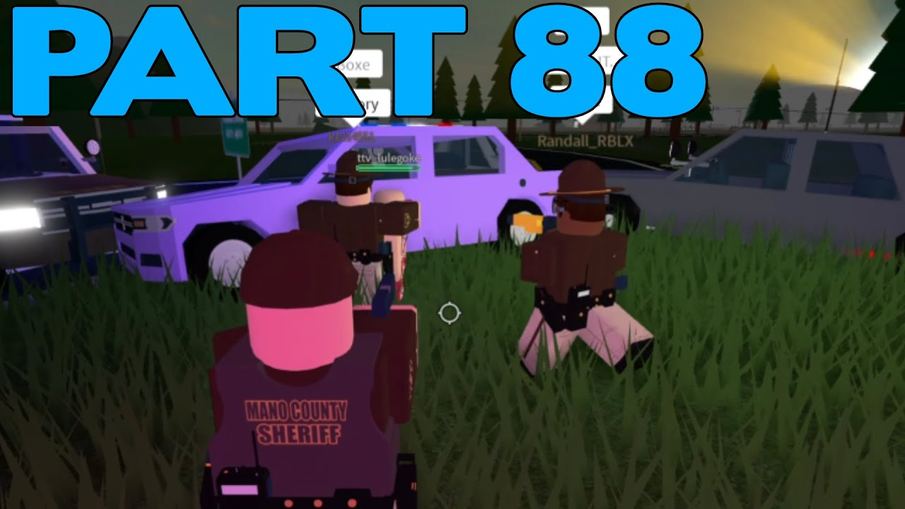 ROBLOX Mano County Patrol Part 88 | Lot's of Shootings & Pursuits! |