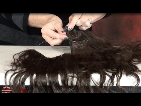 How to Make and Wear Halo Extensions - DoctoredLocks.com
