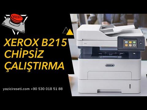 XEROX B Serisi Çipsiz Çalıştırma B205  B210   B215 Yazıcı Reset