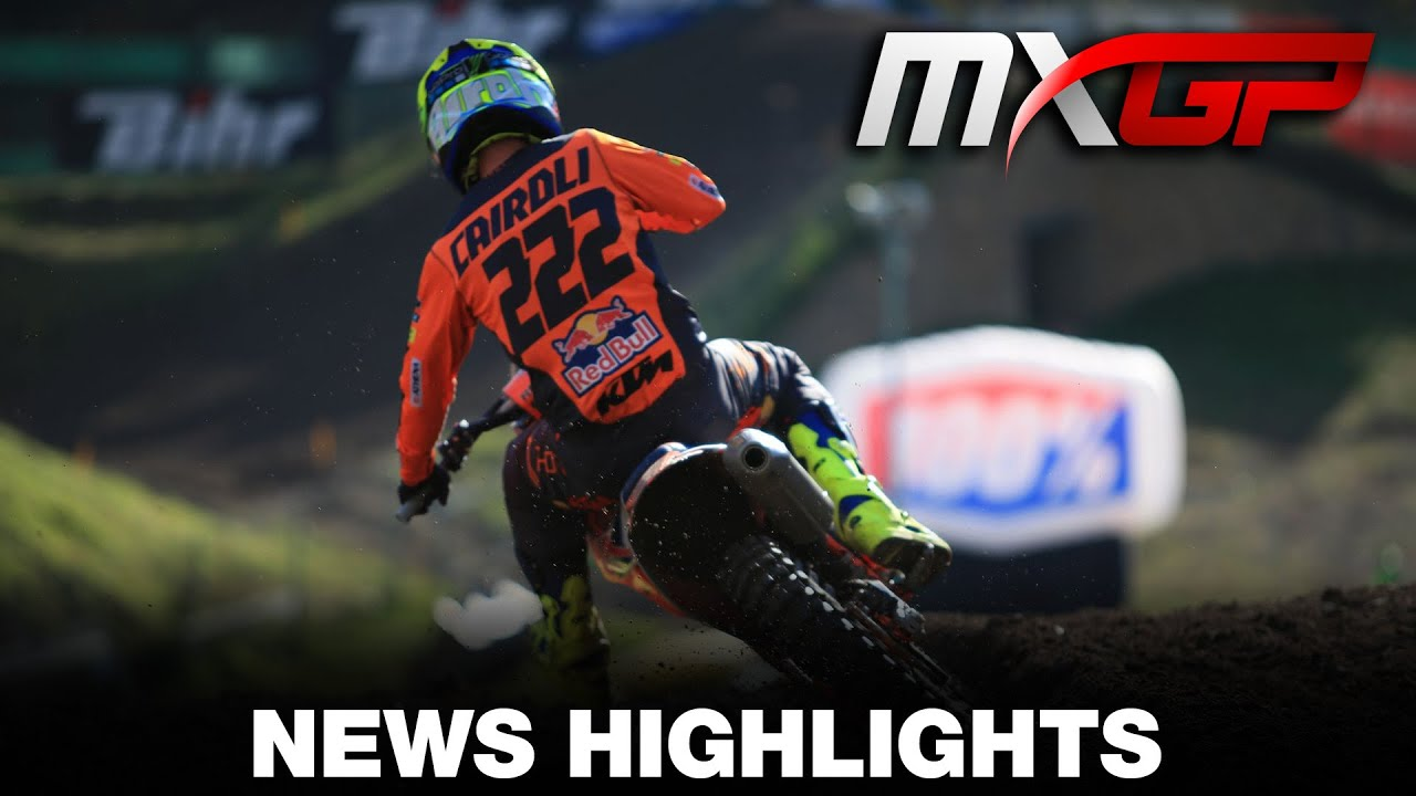MXGP of Trentino Video Highlights!
