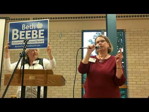 Beth Beebe for Bloomington School Board 2017