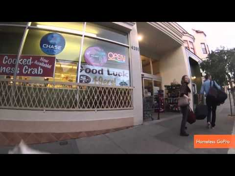 Homeless Man Wears a GoPro For Look at Life on the Streets