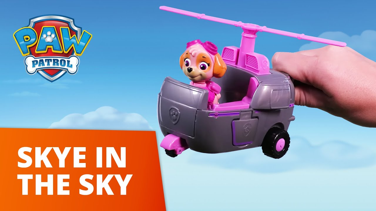 PAW Patrol   Skye in the Sky   Toy Episode   PAW Patrol Official & Friends