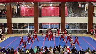 "Navarro College from ""CHEER"" on Netflix NCA Showoff 2019"
