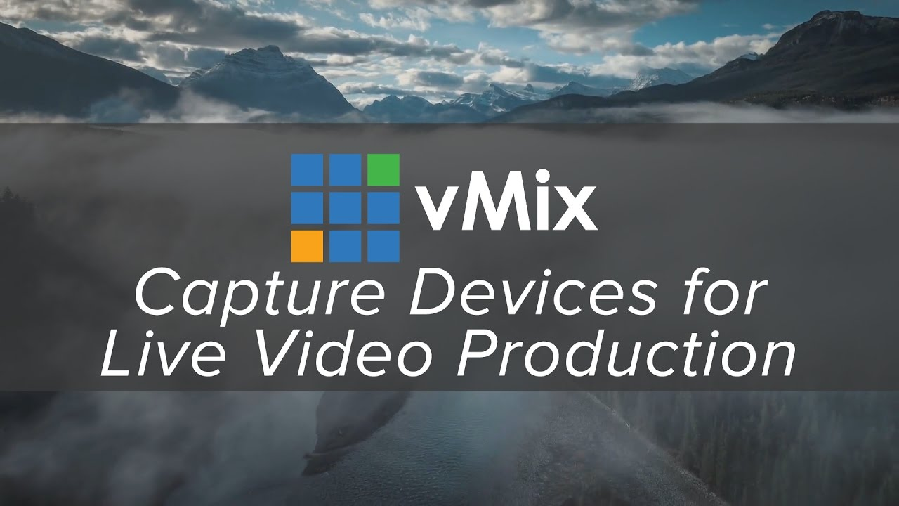 vMix capture cards and devices  Archives - vMix Blog