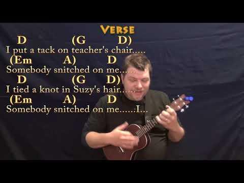 Nuttin' For Christmas (Barry Gordon) Ukulele Cover Lesson in D with Chords/Lyrics
