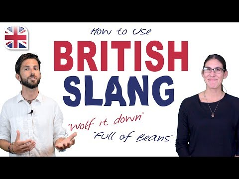 20 British Slang Phrases and Expressions - English Vocabulary Lesson