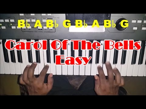 Carol of the Bells - Easy Piano Tutorial - How To Play