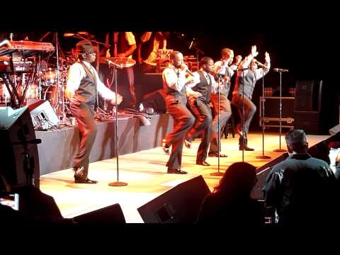 New Edition (Bobby & Ralph debate) New Edition performs