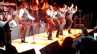"New Edition (Bobby & Ralph debate) New Edition performs ""Coo..."