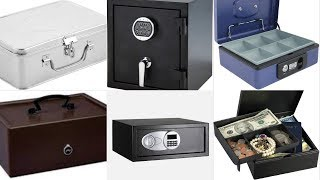 Best Selling Cash Boxes for security & safety under Home Improvement on Amazon Fashion