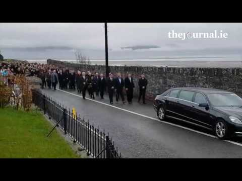 Rescue 116: Captain Mark Duffy's funeral in Co Louth