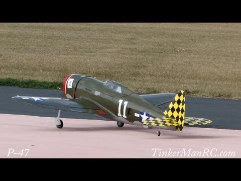 Hangar 9 P 47 150 Thunderbolt Maiden Flight   YouTube Hangar 9 P 47 150 Thunderbolt Maiden Flight