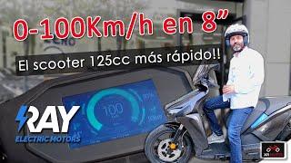 RAY: El scooter 125cc con mayo…