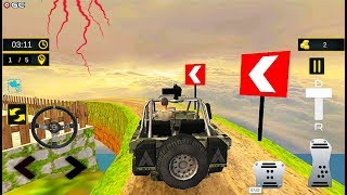 Offroad Hill adventure Real Jeep Driving - 4x4 Mount Car Driver - Android GamePlay