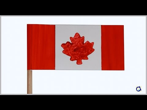 Canadian Flag DIY Crafts