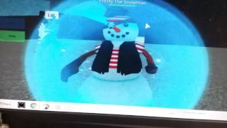 FROSTY THE SNOWMAN ES REAL KIDS/Roblox