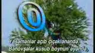 """""""Gülüslərin cingildəsin saz kimi"""" karaoke"""