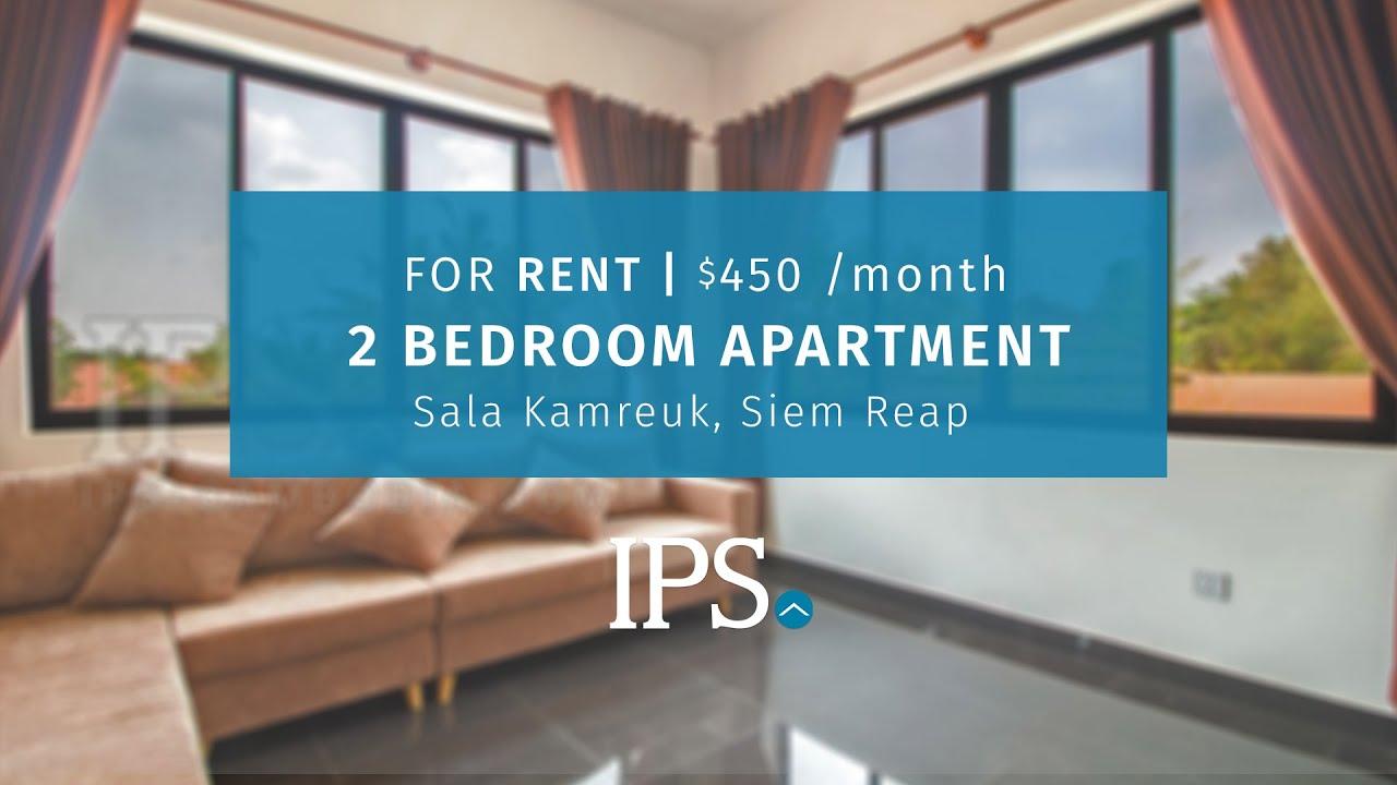 Property Code 10285 2 Bedroom Apartment For Rent Sala Kamreuk Siem Reap Ips Cambodia Youtube