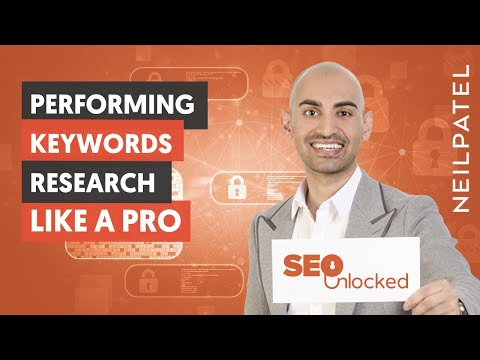 Keyword Research Part 1 - SEO Unlocked - Free SEO Course with Neil Patel