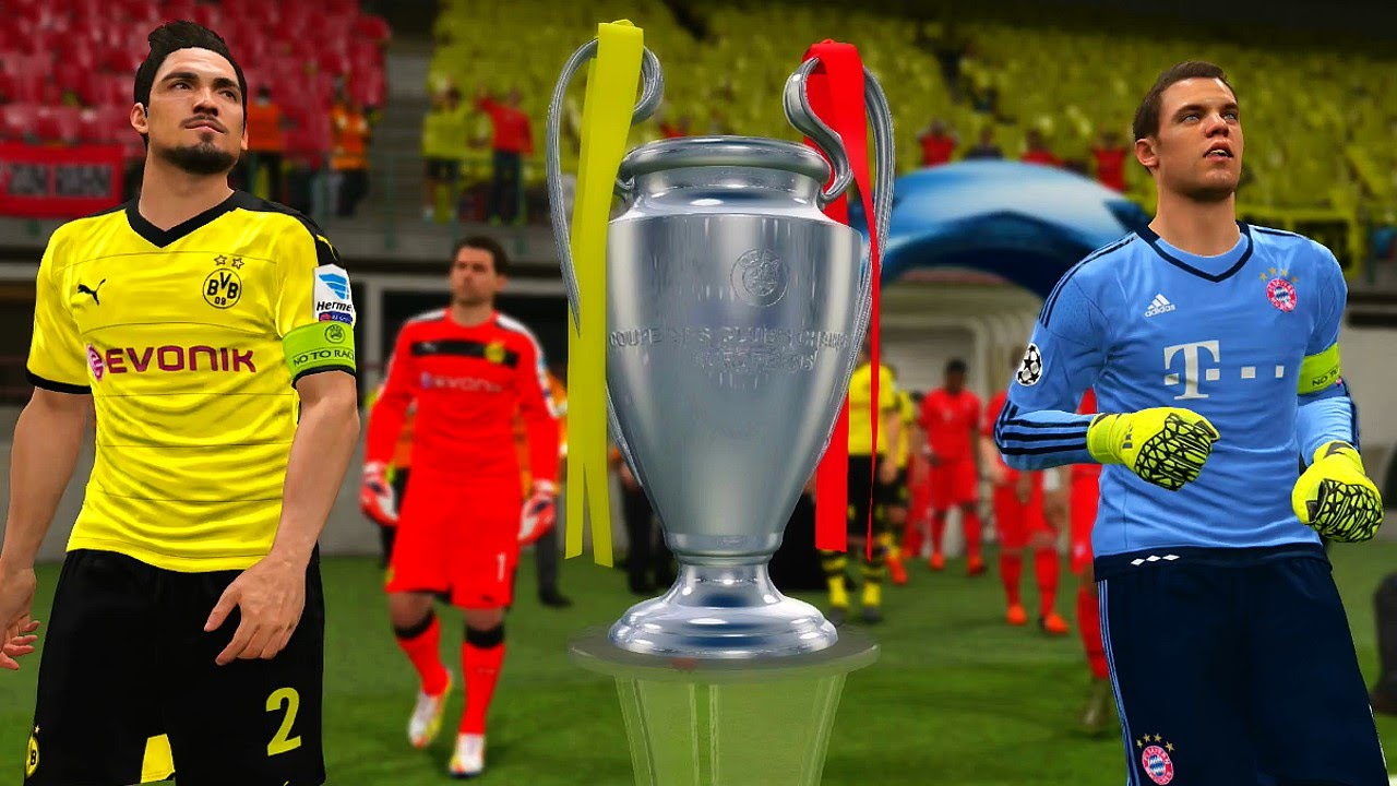 borussia dortmund champions league winners