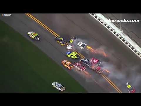 """Impresionante """"Big One"""" en la Daytona 500 (18-02-2019) Carburando.com"""
