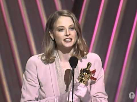 Jodie Foster Wins Best Actress: 1992 Oscars