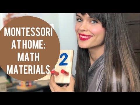 Montessori Education | Montessori Math Materials For Preschoolers And Toddlers | Homeschooling Ideas