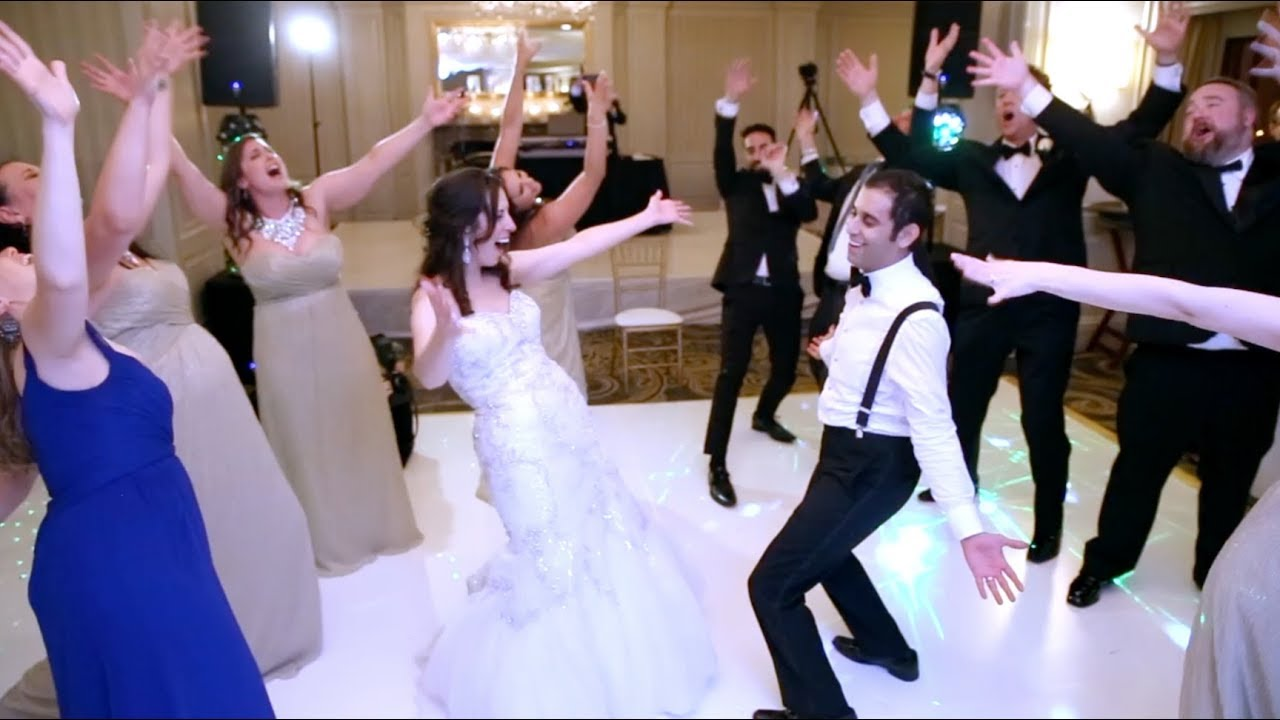 Best Wedding Flash Mob Ever Bridal Party Surprises Bride And Groom