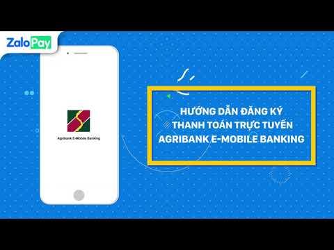 Hướng Dẫn Đăng Ký Thanh Toán Trực Tuyến Agribank E-Mobile Banking