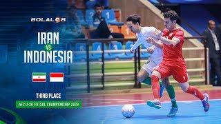 Iran (9) - (1) Indonesia - AFC U20 Futsal Championship 2019