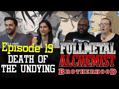 Fullmetal Alchemist: Brotherhood - 1x19 Death of the Undying - Group Reaction