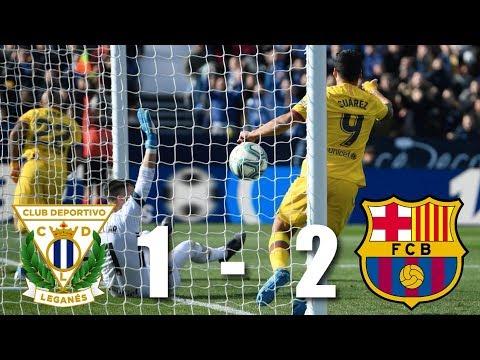 Leganes vs Barcelona [1-2], La Liga 2019/20 - MATCH REVIEW