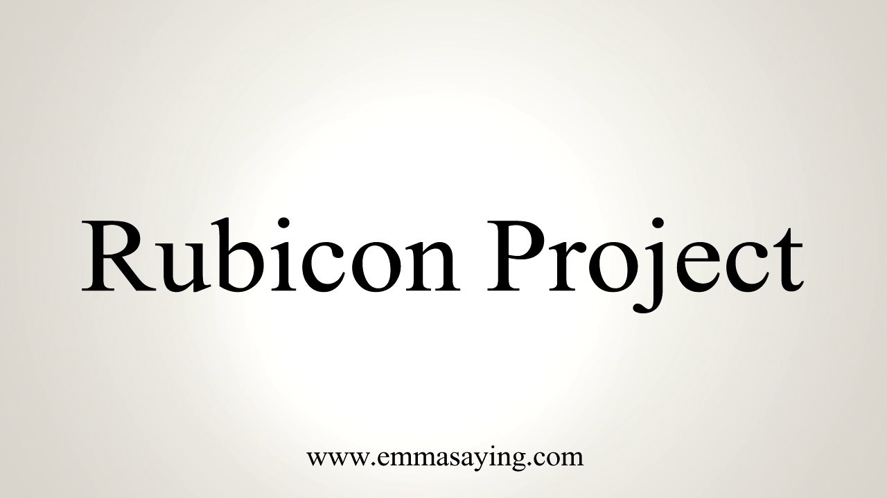 the rubicon project At yahoo finance, you get free stock quotes, up-to-date news, portfolio management resources, international market data, social interaction and mortgage rates that help you manage your financial life.
