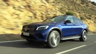 видео Mercedes-Benz представил GLC Coupe