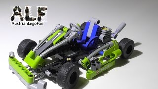 Lego Technic 8256 Go Kart - Lego Speed Build Review