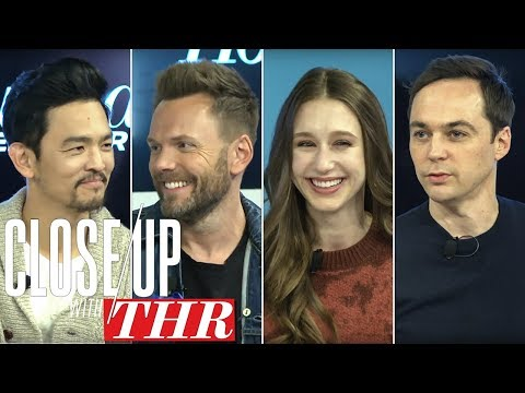 Jim Parsons, Taissa Farmiga, Joel McHale & John Cho Live Close Up With THR  Sundance 2018
