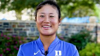 Meet the sophomore golfer who helped lead Duke to a national championship