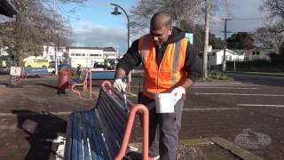 Manurewa Town Centre Clean-up 2017