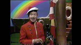 "WPVI-TV 6 Philadelphia Captain Noah Show - ""I Can Sing A Rainbow"" (Red & Yellow & Pink & Green) 1994"